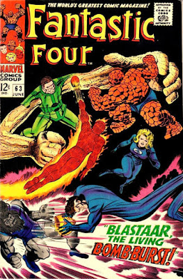 Fantastic Four #63, The Sandman