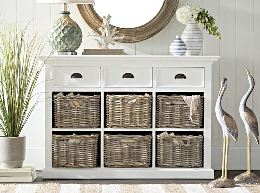 Sideboard Buffet with Basket Drawers