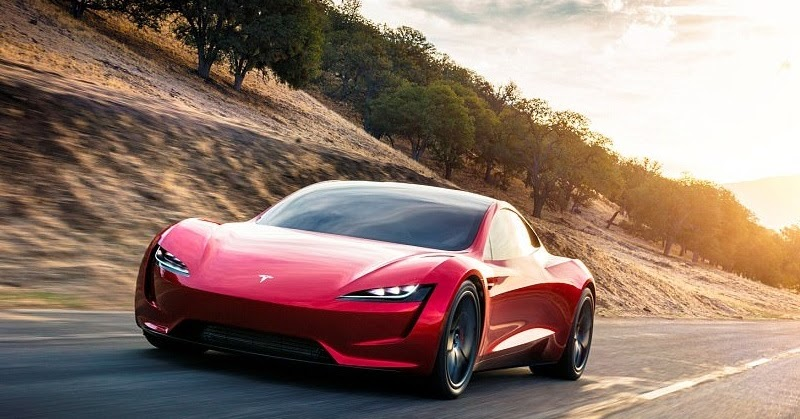 new tesla roadster unveiled the fastest production car ever made car reviews new car. Black Bedroom Furniture Sets. Home Design Ideas