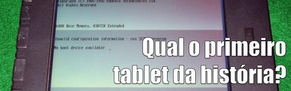 primeiro tablet da história