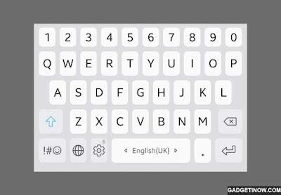 prediksi teks otomatis pada keyboard