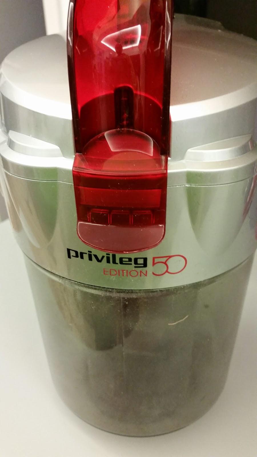 Der Privileg Staubsauger Edition 50, 2,2 Liter im Test ...