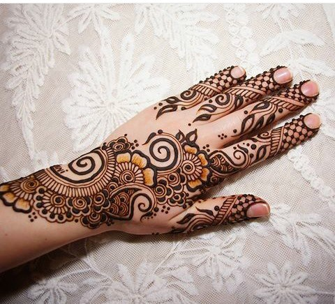 Mehandi Design for Hands 20