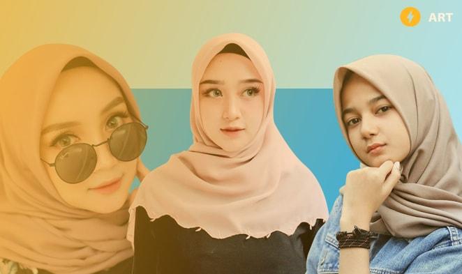 Unduh Foto Mentahan Hijab Picsay Pro HD Format PNG