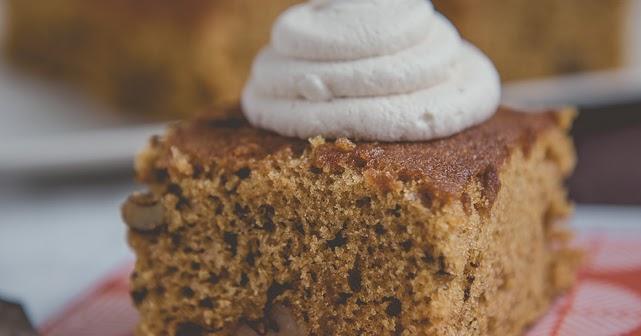 Pumpkin Walnut Cake Butter