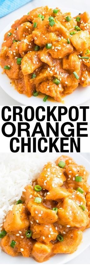 SLOW COOKER RECIPES | Slow Cooker Orange Chicken