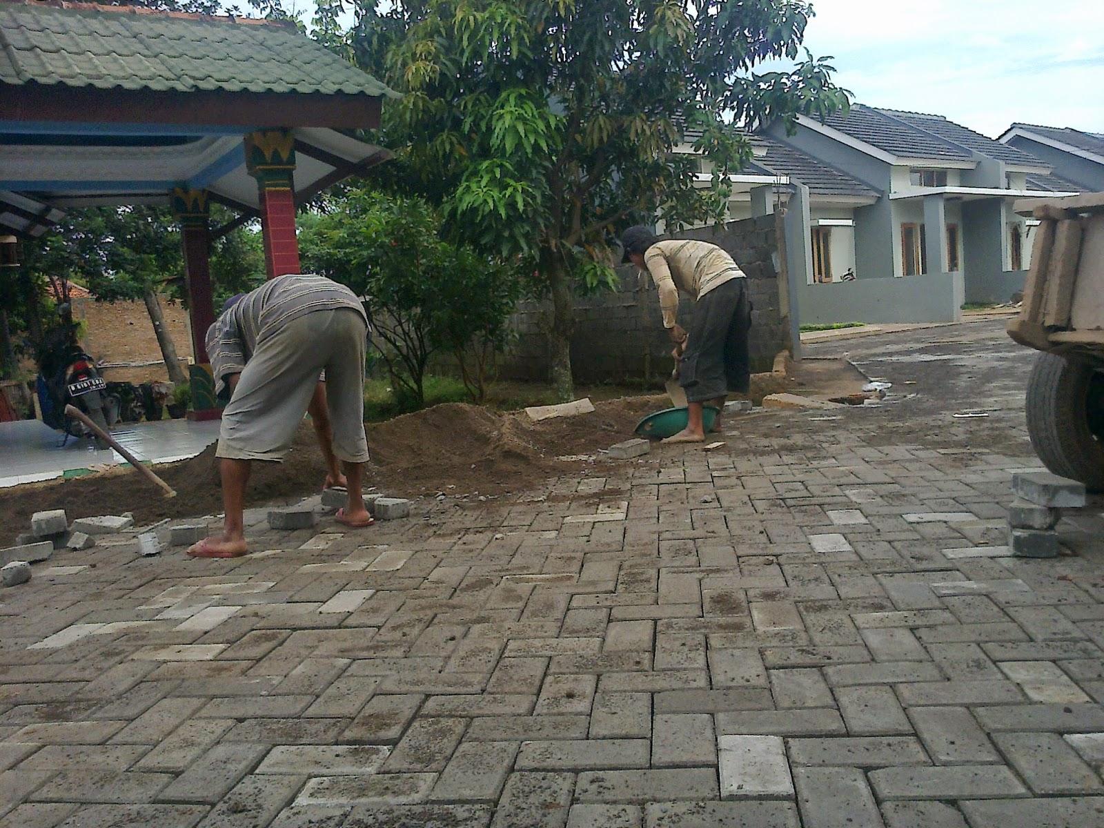 Harga pemasangan paving block