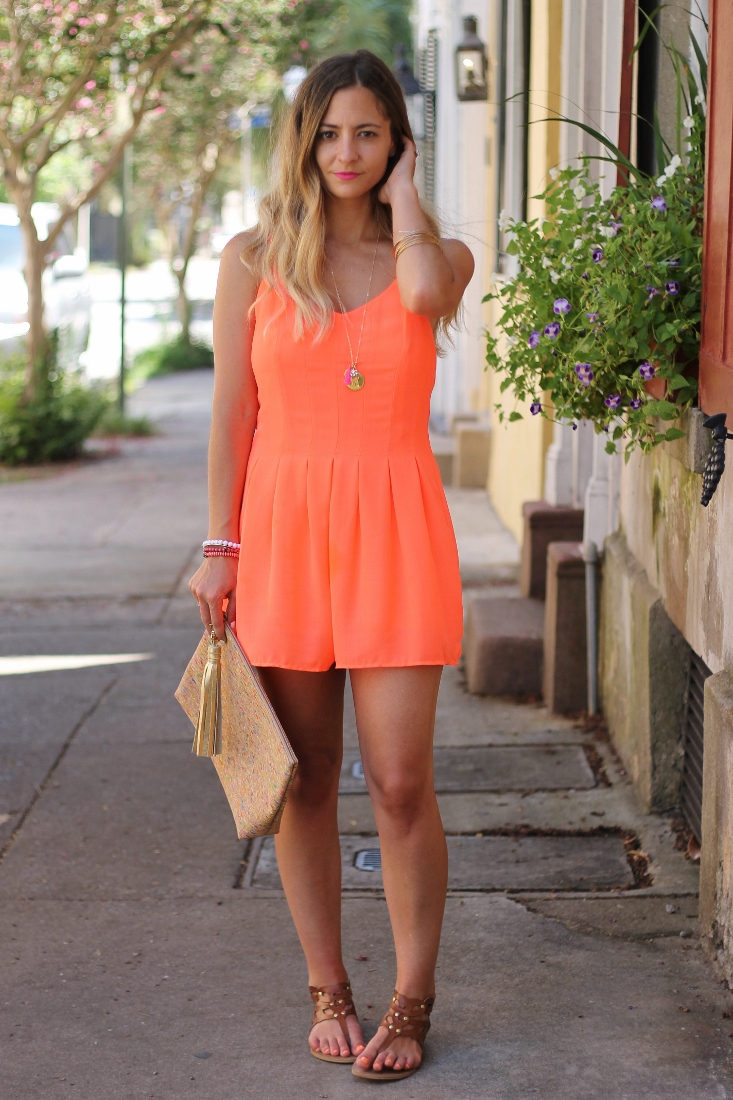 Wide leg short jumpsuit