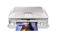Les imprimantes Canon MG7751 avec des documents professionnels impriment rapidement les résultats en noir et blanc pour la première fois - en 6 secondes, à une vitesse pouvant atteindre 24 pages par minute