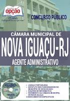 apostila concurso público Câmara de Nova Iguaçu Agente Administrativo