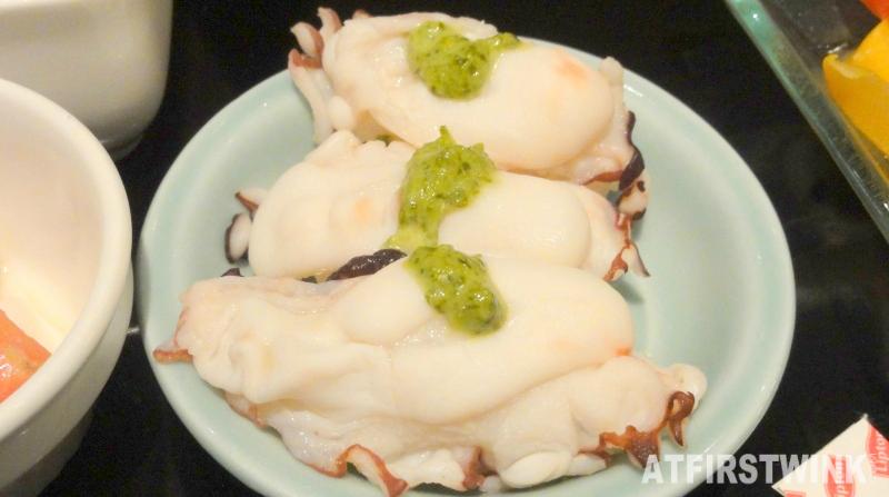 octopus Hokkaido wasabi mayonnaise