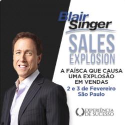 Treinamento Sales Explosion de Blair Singer