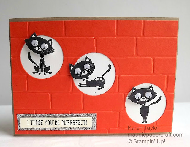 Stampin' Up! You Little Furball card
