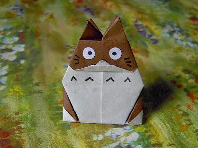 Totoro de origami