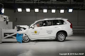 H Volvo βάζει στόχο μηδέν θανάτους από τροχαία! Volvo, Volvo XC90