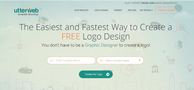 utterweb logo design maker