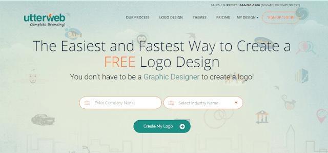 utterweb logo design maker
