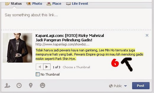 shared link facebook 6