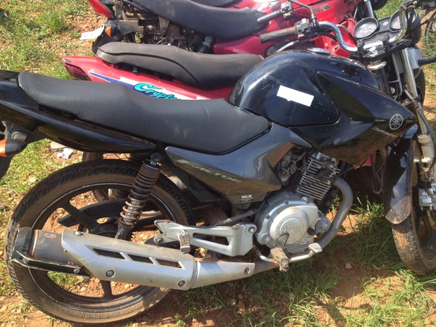 Moto é furtada e recuperada horas depois pela PM em Cacoal