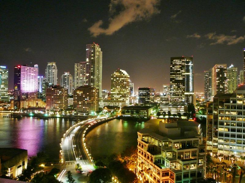 マイアミの夜景 | M's Miami Cafe