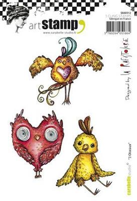 Carabelle Studio: 3 Oiseaux