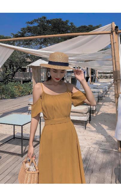 Shop ban vay maxi o Thanh Oai