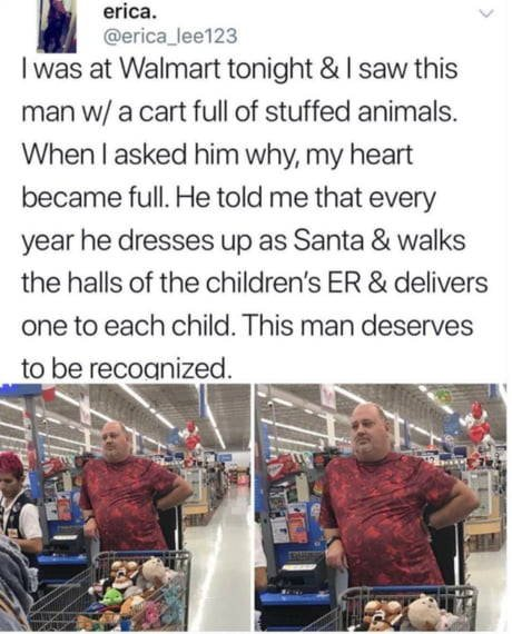 Faith in humanity restored - kind acts from strangers