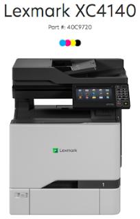 Lexmark XC4140 Treiber herunterladen