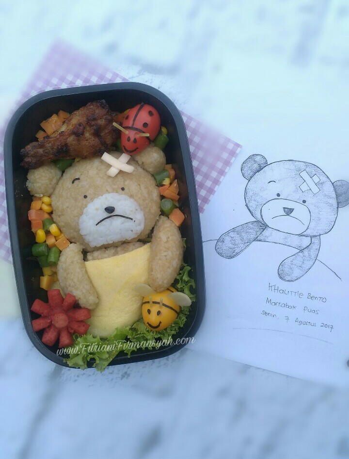 My kind of wonderful bento teddy bear sick bento teddy bear sick altavistaventures Gallery