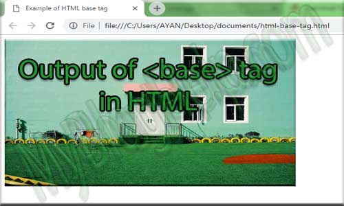 base-tag-in html