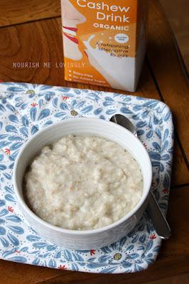 Creamy Savoury Porridge