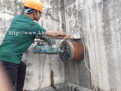 Khoan cắt bê tông tại Vĩnh Long