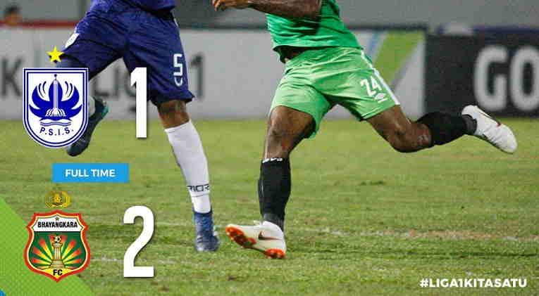 Hasil PSIS Semarang vs Bhayangkara FC Skor Akhir 1-2 | Liga 1 Pekan 20