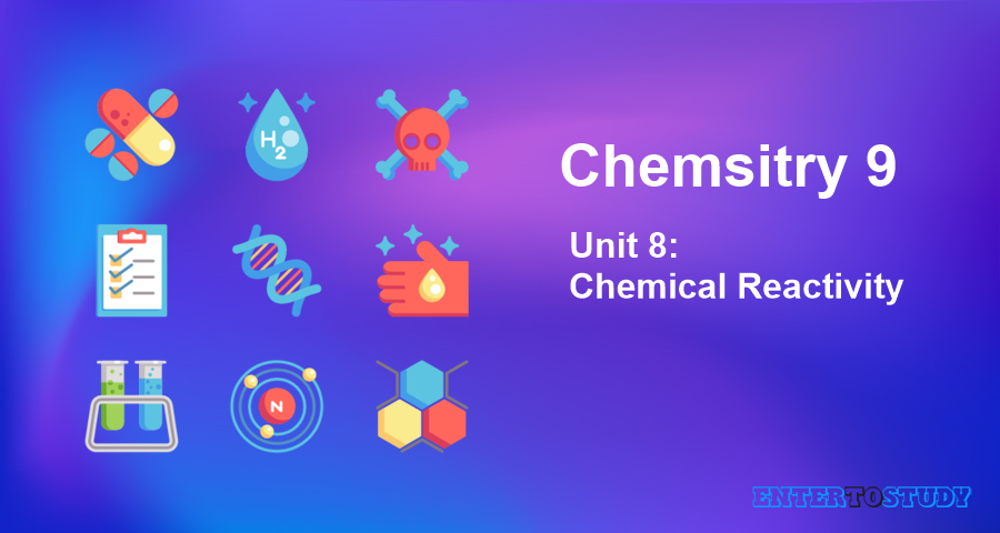 KIPS 9th Class Chemistry Notes Unit 8: Chemical Reactivity