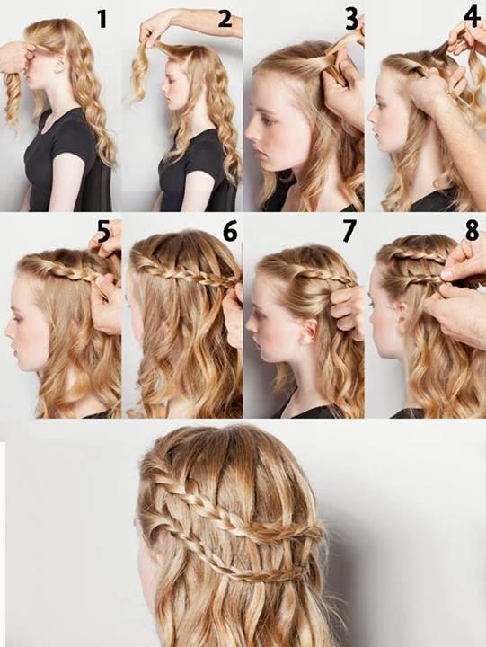 Peinados de noche faciles cabello suelto