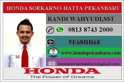 Marketing Honda Riau