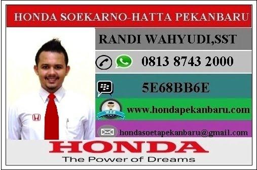 Informasi Harga Mobil Honda dan Paket Kredit di Dealer Honda Pekanbaru Riau