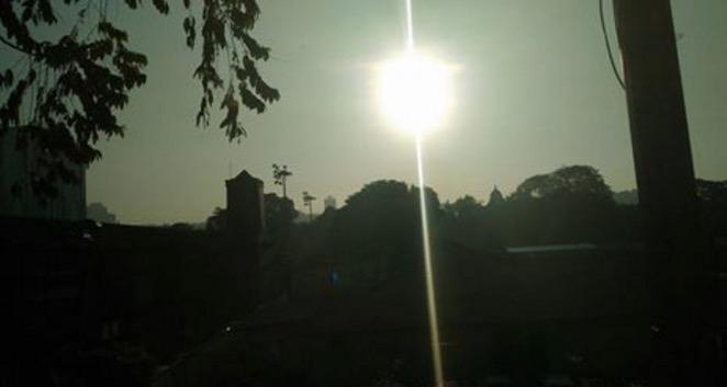 Kejadian Gerhana Matahari 2016