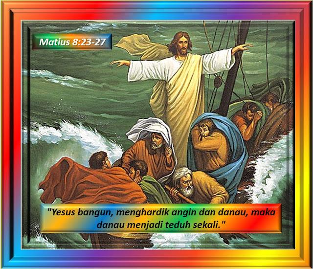Matius 8:23-27
