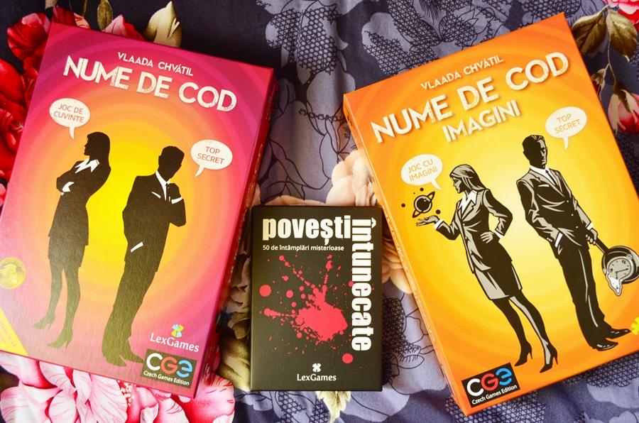 jocuri societate boardgames nume de cod cuvinte imagini povesti intunecate lex games