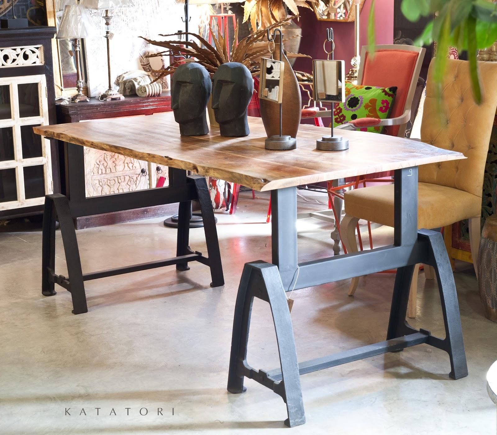 Katatori interiores al natural for Muebles en bruto