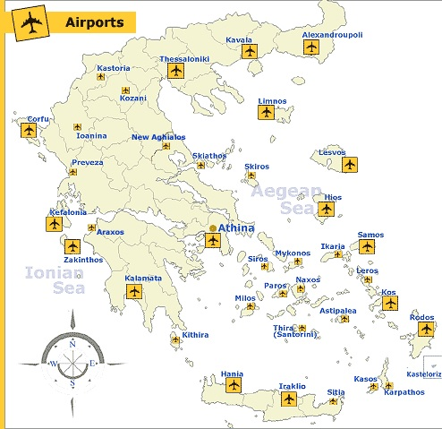 14 Airports are privatized in Greece