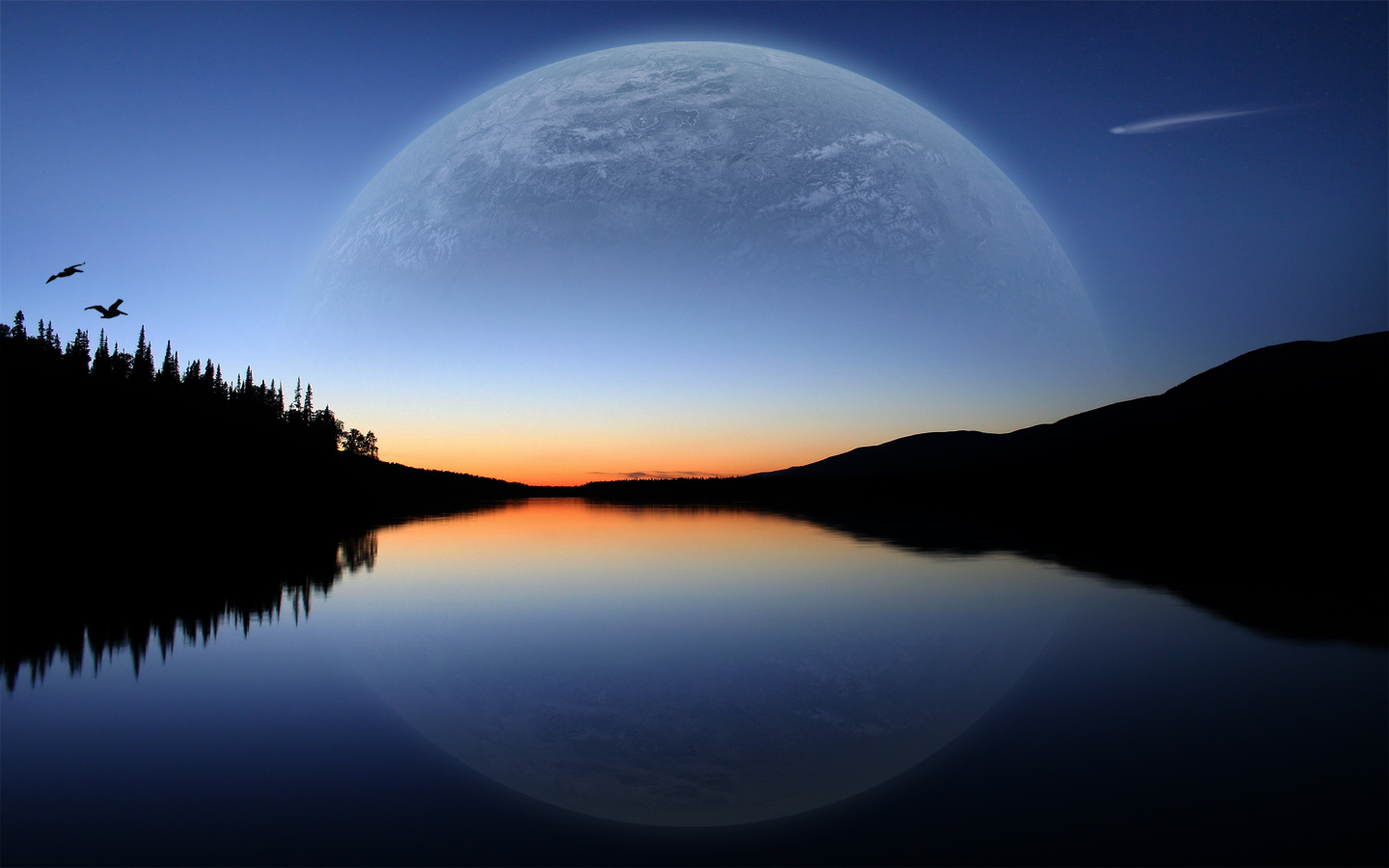 pretty moon wallpapers - photo #40