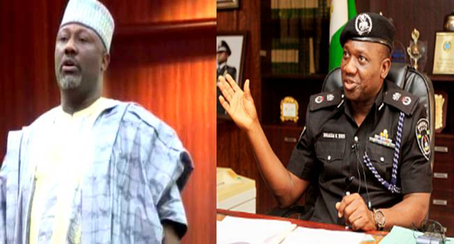 Image result for Police Senator Melaye