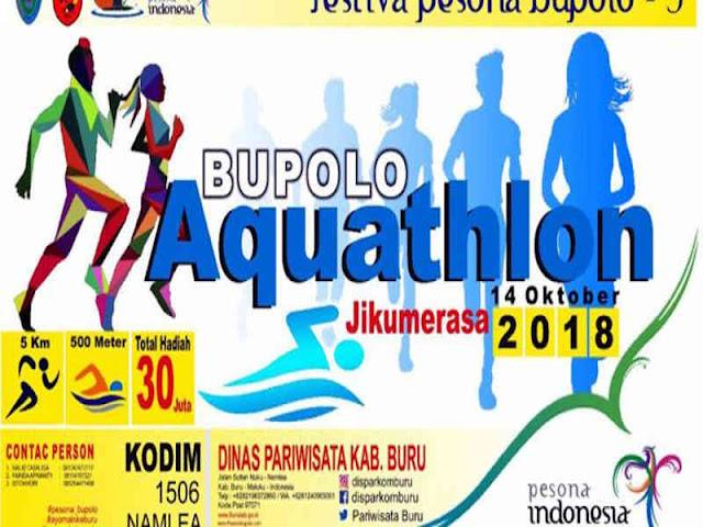 Festival Pesona Bupolo 3 Promosikan Wisata di Buru Melalui Multisport