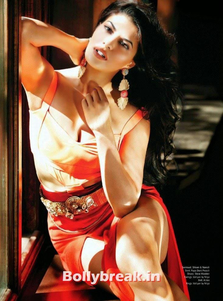 , Jacqueline Fernandez Hot Filmfare Magazine May 2014 Scans