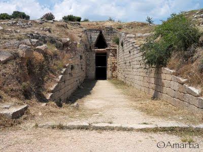 Mycènes Argolide Peloponnèse Grèce