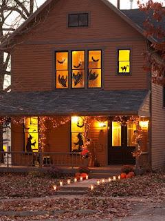 helovīna mājas dekorācija