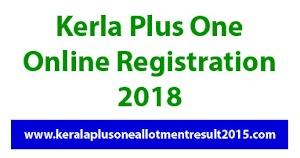 Kerala Plus One Admission 2018 online registration on HSCAP Ekajalakam SWS