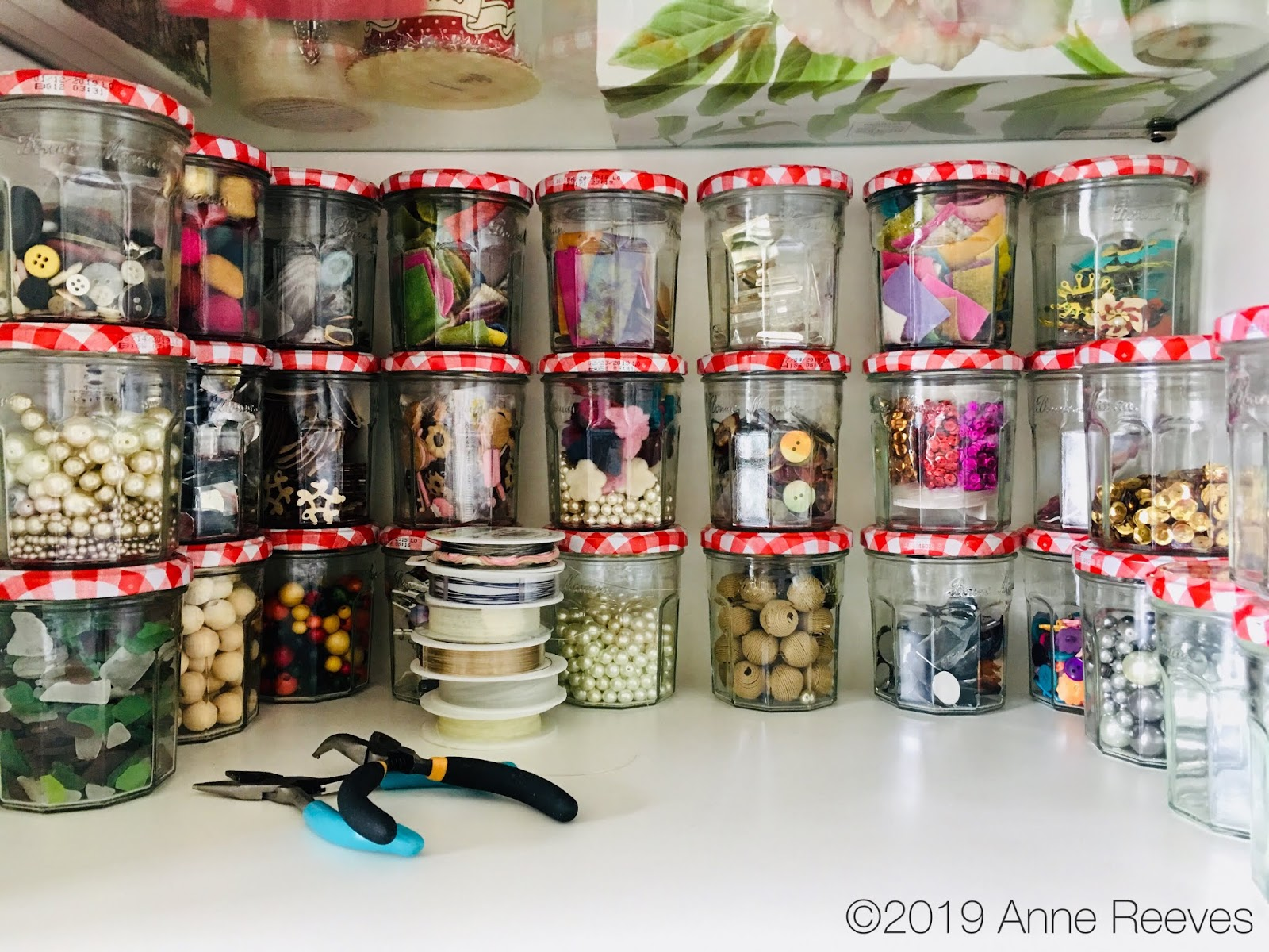 Moments Of Delight Anne Reeves Upcycling Jars Bonne Maman Knows Me